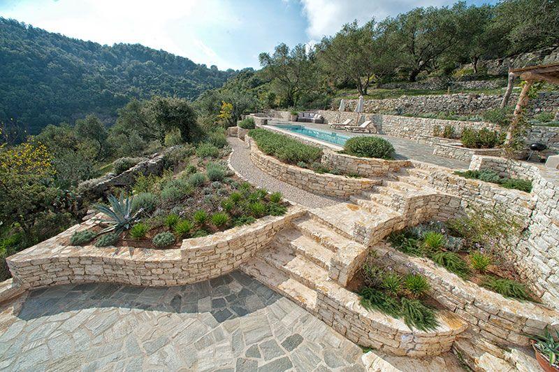 Luxury villa rent Corfu SJ Villas Large luxury one
