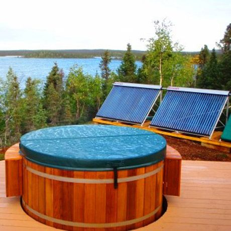 Solar Hot Tub Square Water System