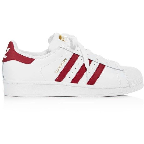 Adidas Women's Superstar Foundation Lace Up Sneakers (1,520 MXN) ❤ liked on Polyvore featuring shoes, sneakers, adidas, zapatos, sport shoes, adidas sneakers, lace up shoes, sports footwear and lace up sneakers
