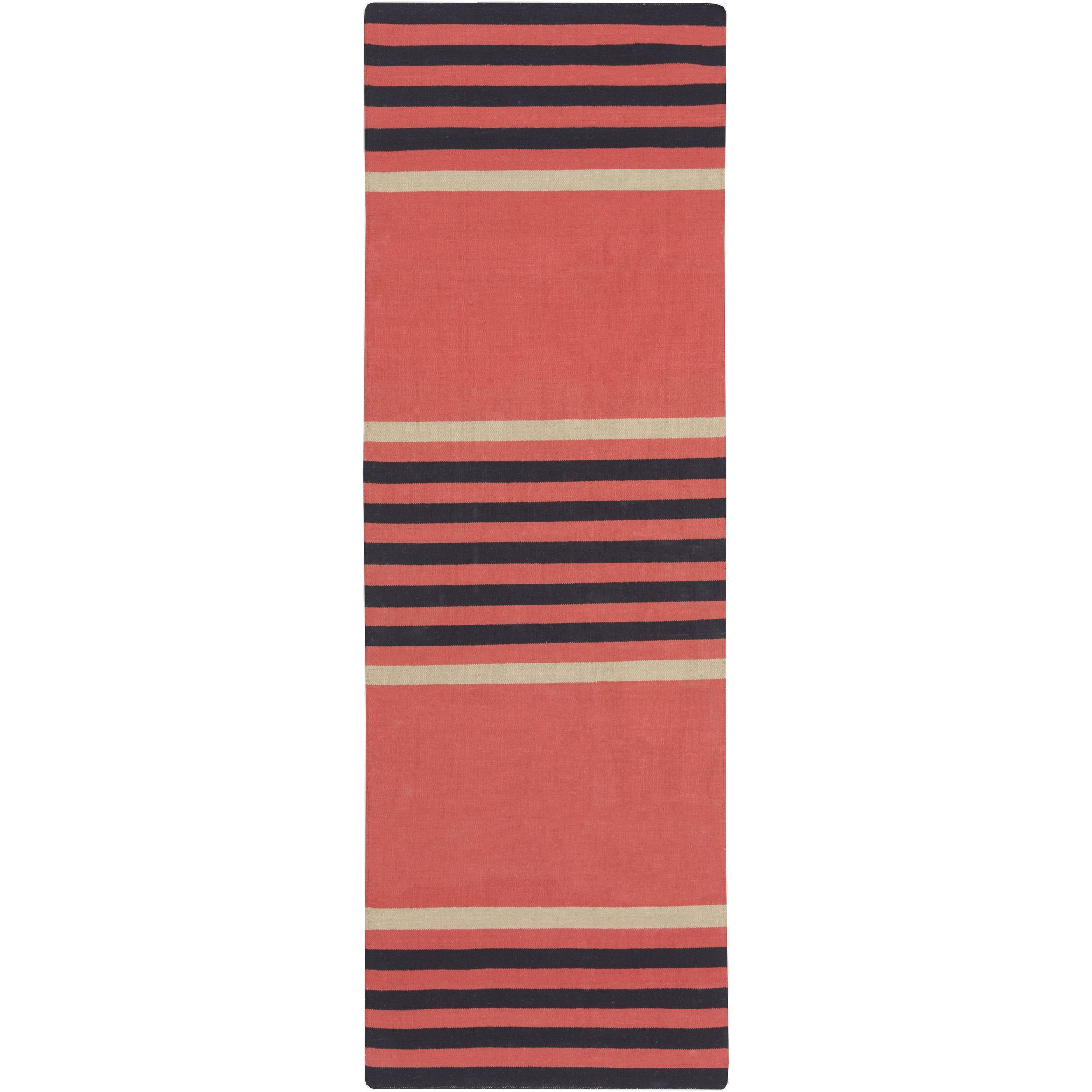 Hand-Woven Patrick Pattern Rug
