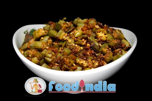 Delicious and favourite gujarati bhindi sabji recipe indian food delicious and favourite gujarati bhindi sabji recipe indian food recipe tips forumfinder Image collections
