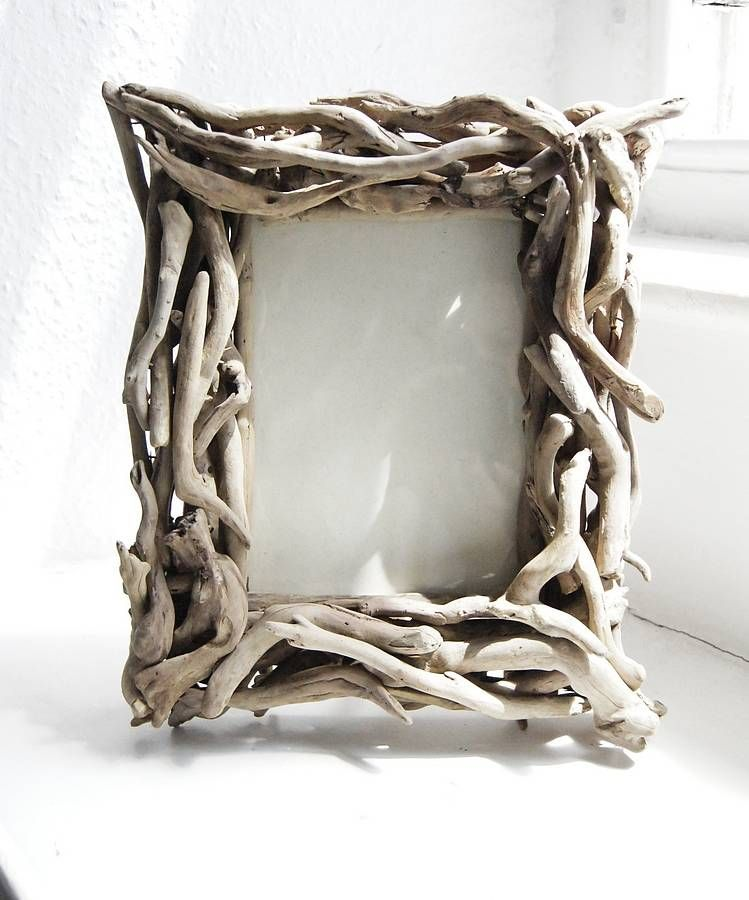 driftwood photo frame by karen miller devon driftwood designs for wonderwalls