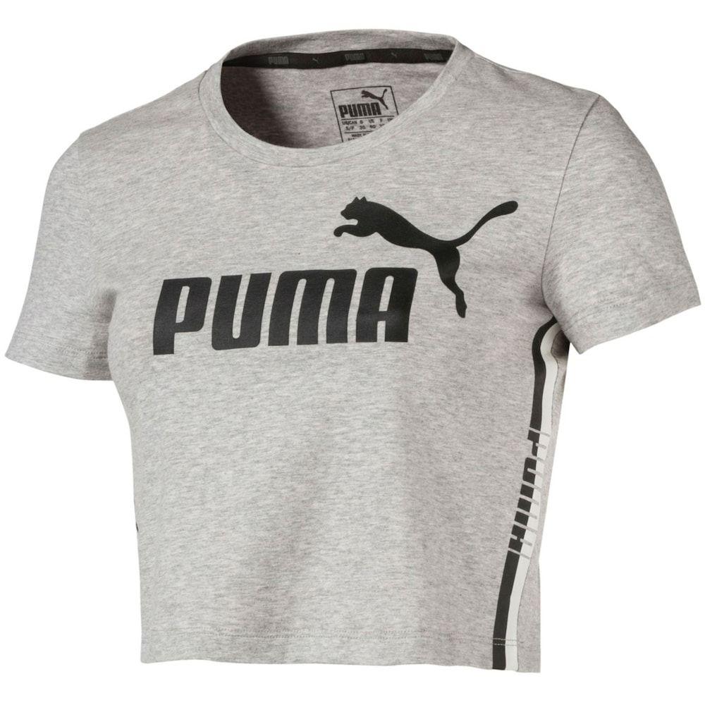 Women's PUMA Cropped Graphic Tee | Puma outfit, Puma shirts