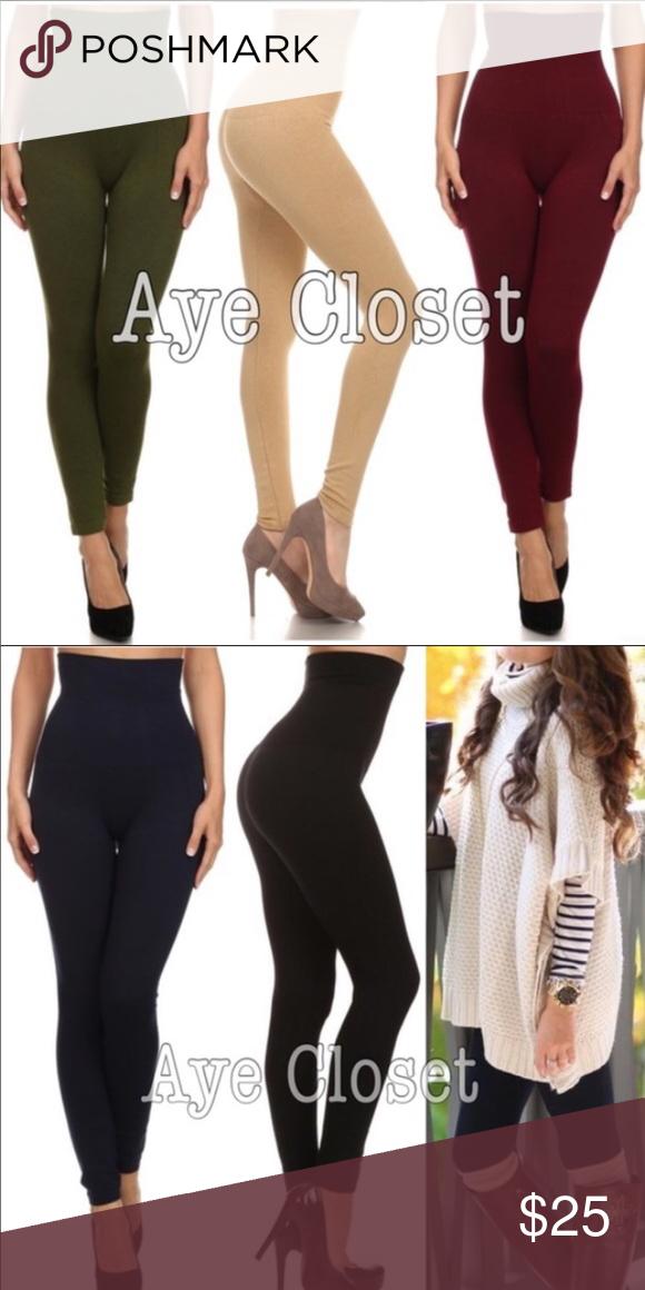 25fe269e93 High waist compression leggings OS Boutique | My Posh Picks ...