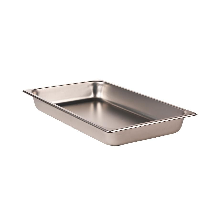 Full Size 2 1 2 Deep Stainless Steel Steam Table Hotel Pan 25 Gauge Stainless Steel Catering
