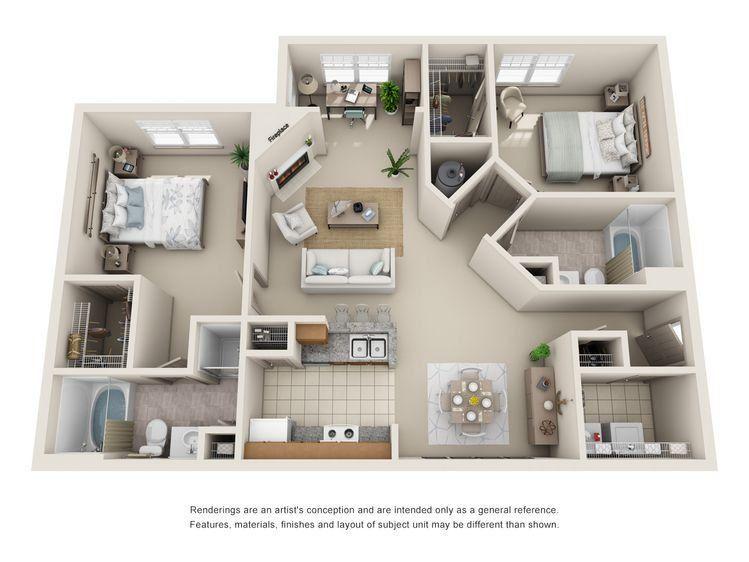 Vkook M 1 Shots Small Apartment Floor Plans Small Apartment Plans 2 Bedroom Apartment Floor Plan