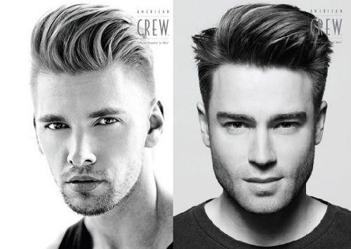 Side Quiff Hairstyle Men 2014