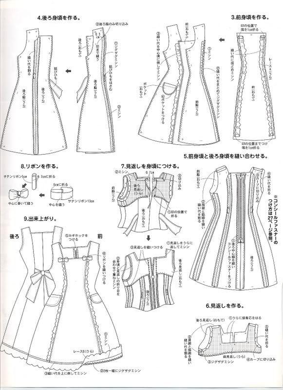 Harakiri-Kei - Scans de todo tipo ~ - ♥Moldes y otras cosillas ...