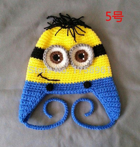 gorros minions a crochet - Buscar con Google | gorros y gorritos ...