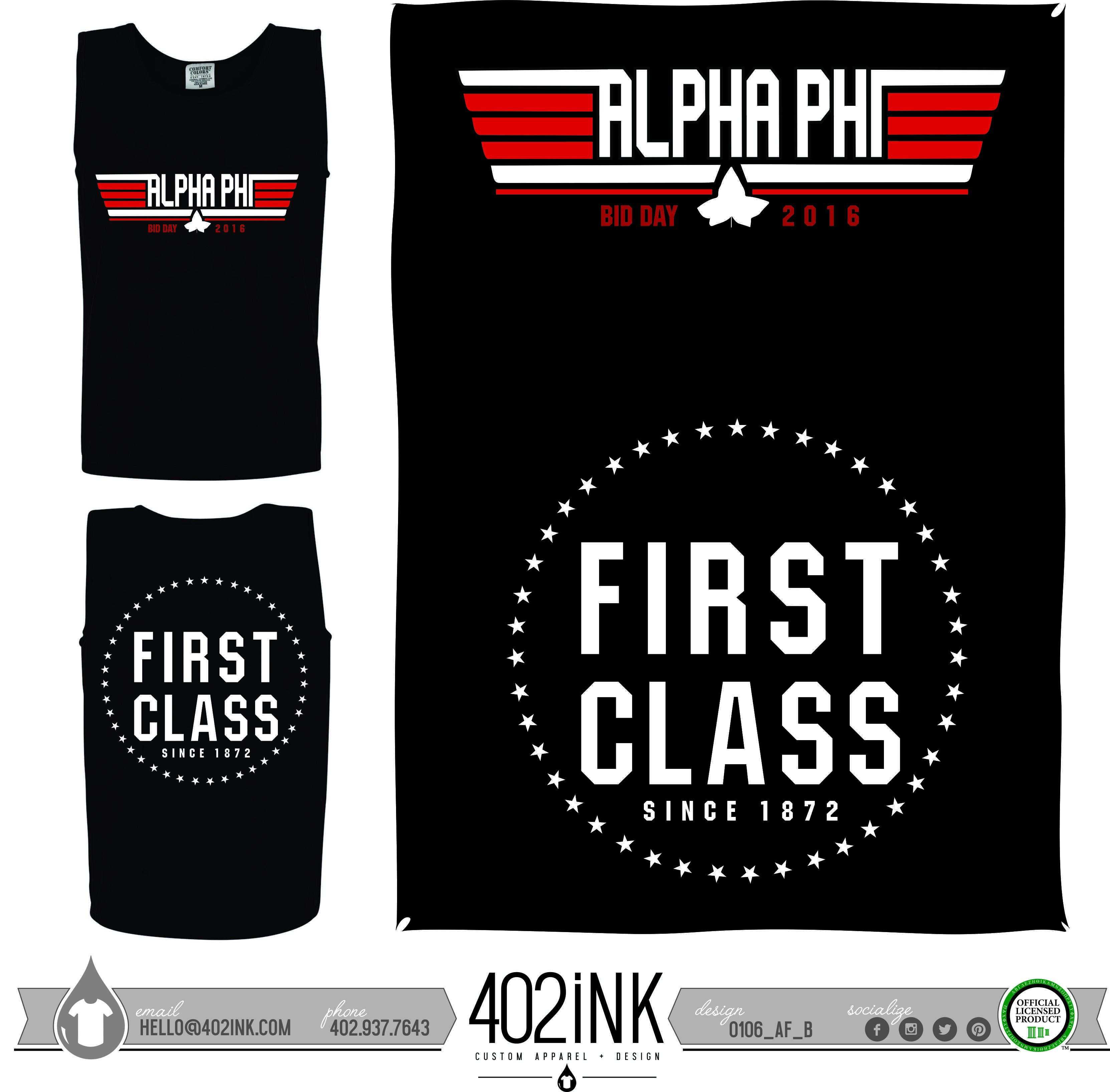 Design t shirt for class -  402ink 402style 402ink Custom Apparel Greek T Shirts Sorority T