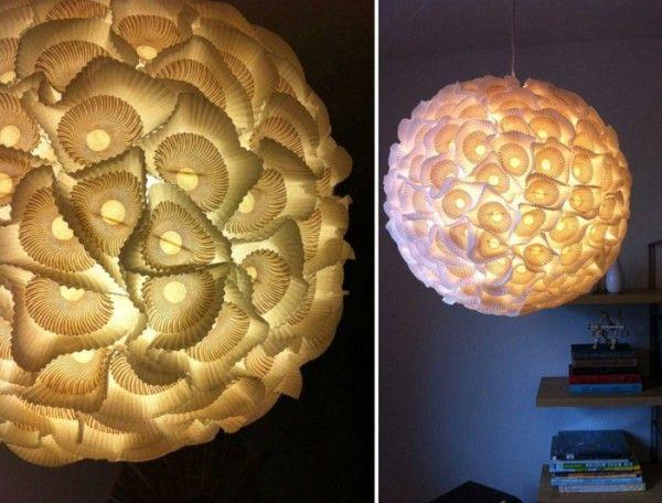 designer lampe selber bauen ausgefallene lampen pinterest lampenschirm selber machen. Black Bedroom Furniture Sets. Home Design Ideas