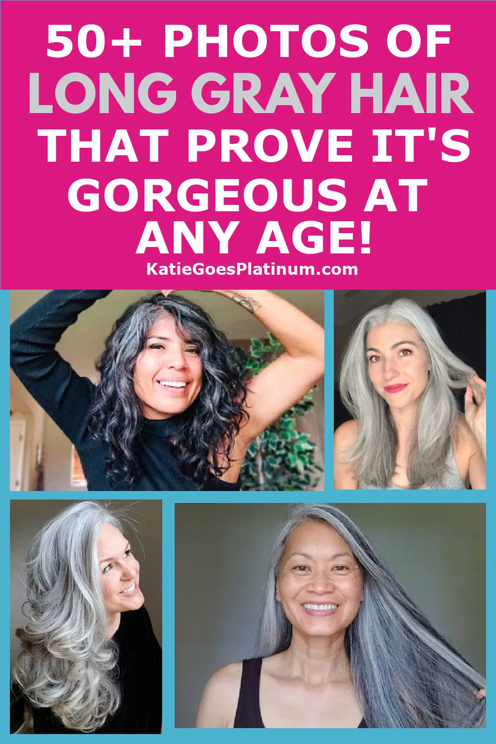 Long Gray Hair Is Gorgeous At Any Age 50 Photos That Prove It In 2020 Grey Hair And Glasses Long Gray Hair Grey Hair Inspiration