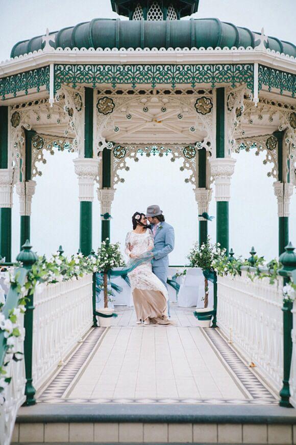 Bandstand cafe brighton wedding dress