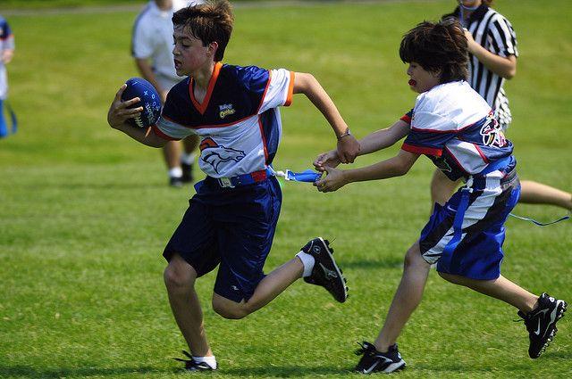 Youth Flag Football Plays Flag Pull Flag Football Drills