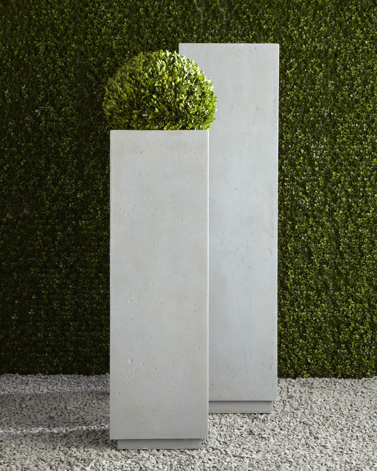 modern square planters  home  outdoor living  pinterest  - modern square planters