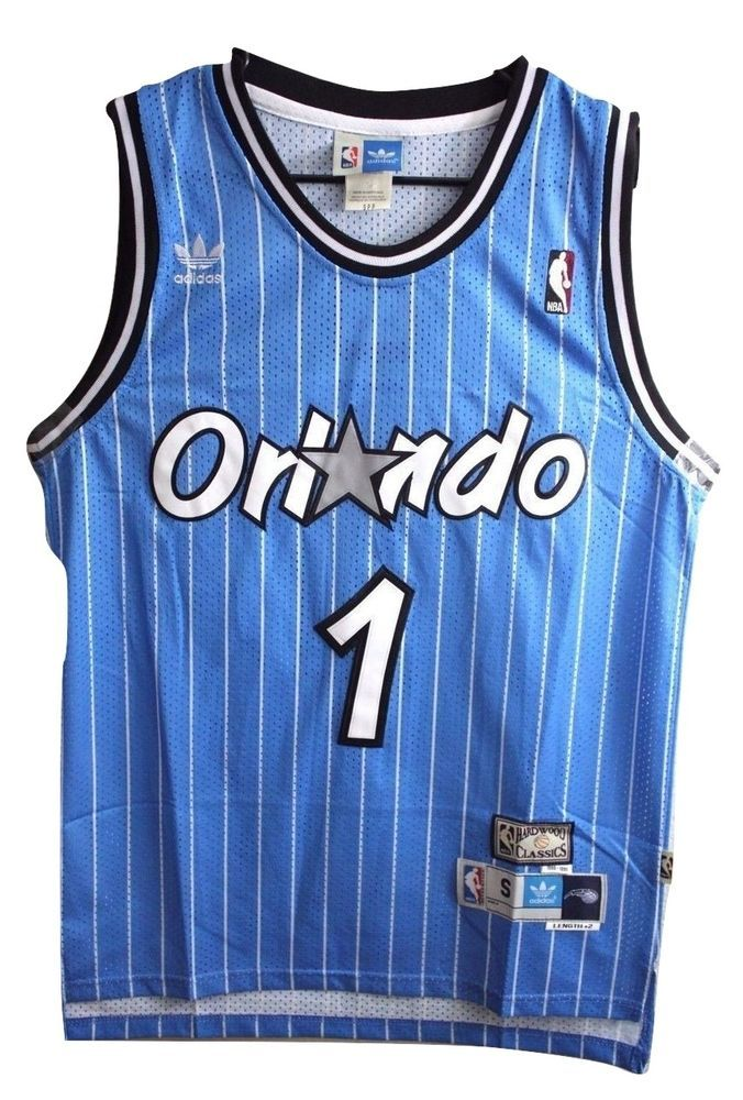 587596072f9c87 ... canada tracy mcgrady orlando magic nba adidas throwback swingman jersey  blue classic 1 adidas 8a264 2dbeb
