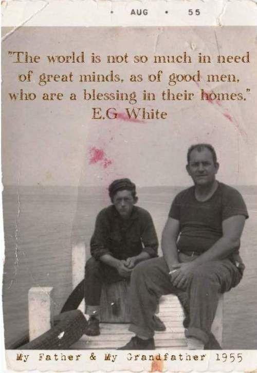 Happy Fathers Day Ellen G White Words Of Wisdom Happy Sabbath