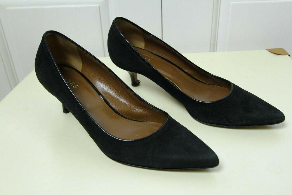 Hobbs Black Suede Kitten High Heel Court Shoes Pumps Leather Uk 7 Eu 40 Kitten Heels From Ebay Uk Kittenheels Heels 7 99 En Pump Shoes Court Shoes Heels