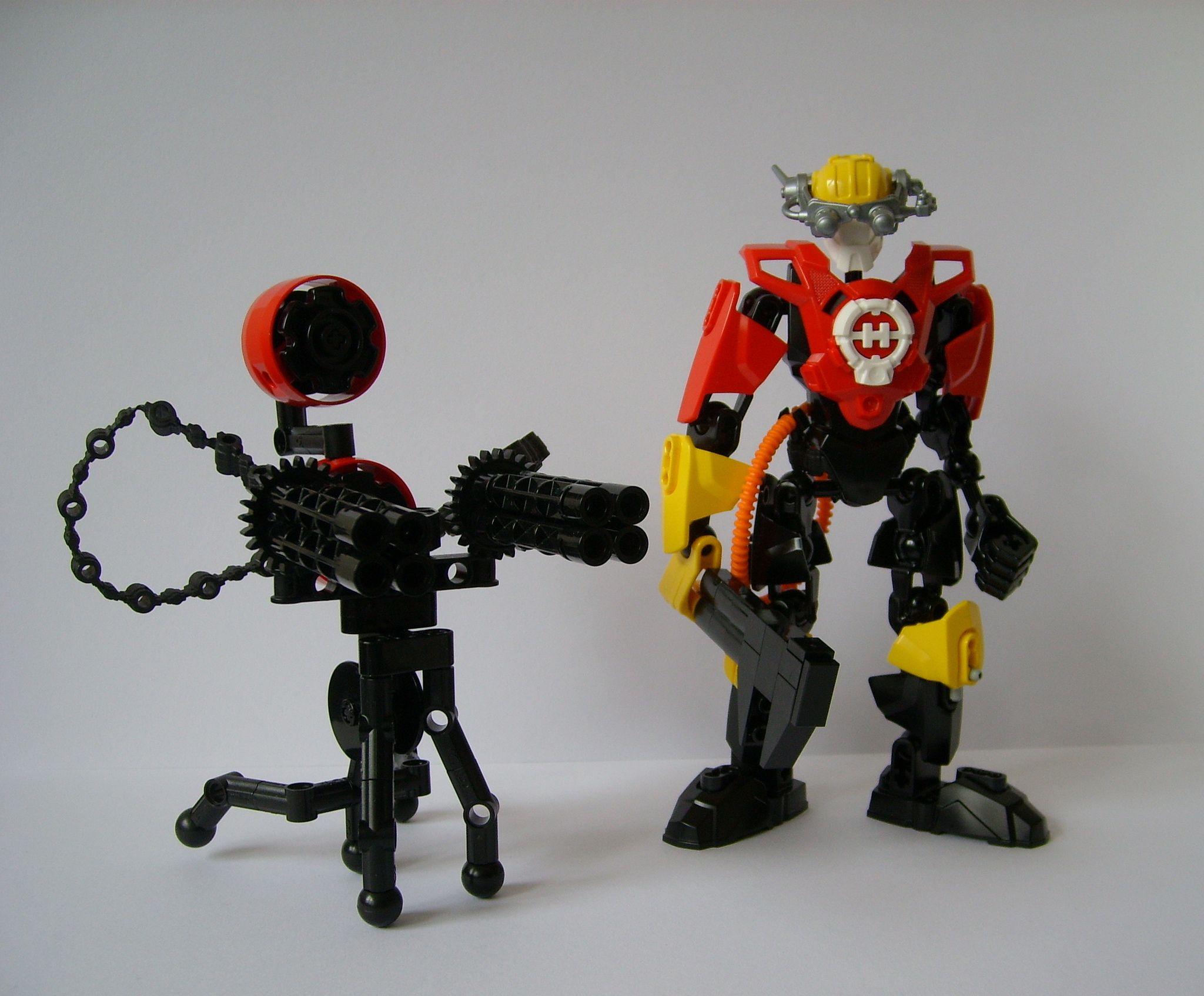 Engineer | Lego - mecha - robot - suit | Lego tf2, Lego