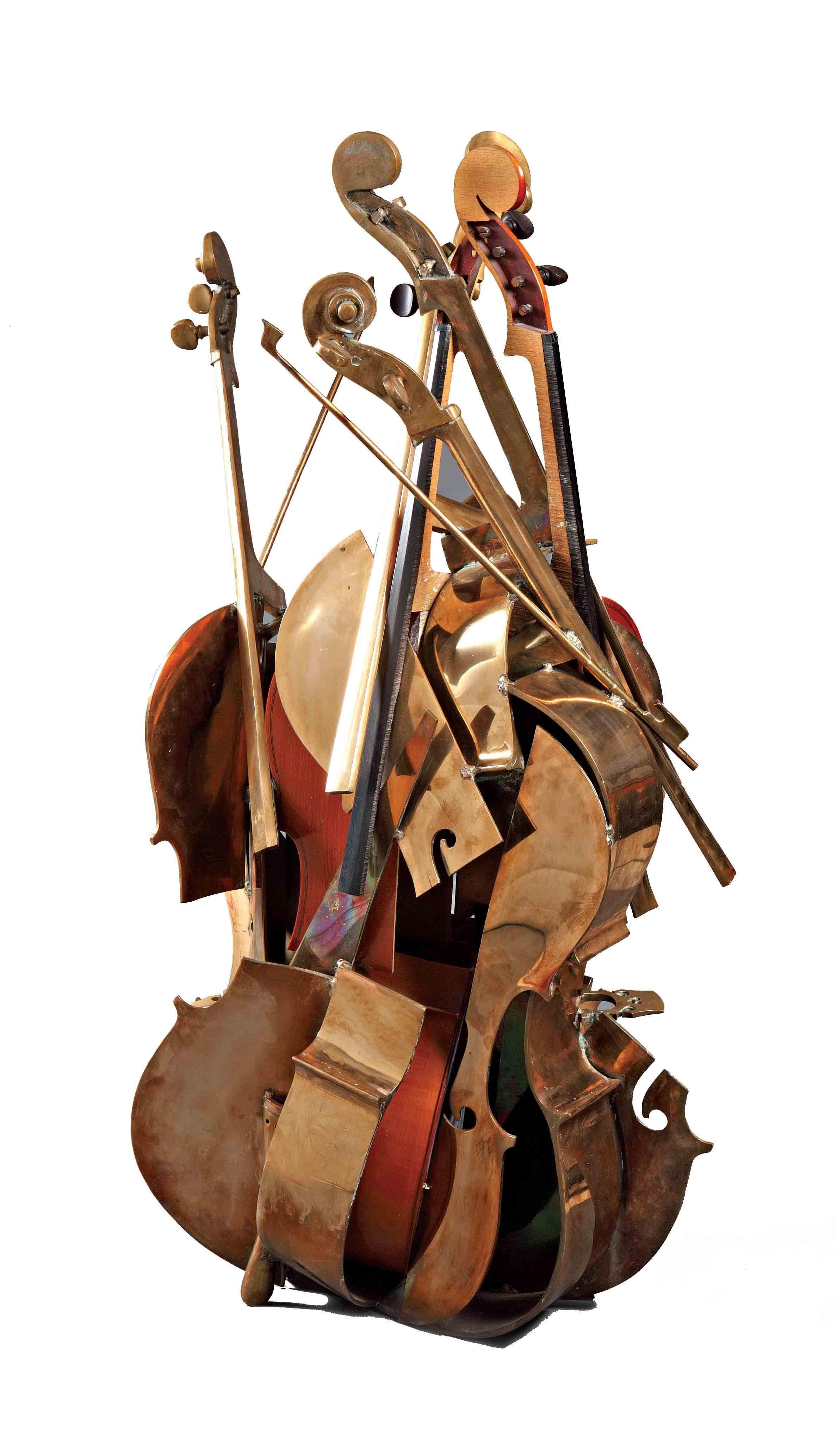 Armand Pierre Fernandez Instruments art, Music sculpture