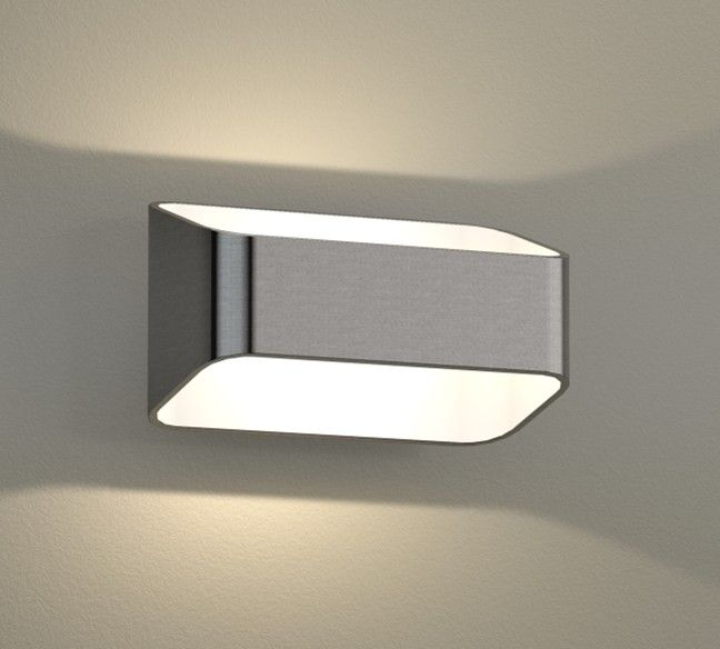 simple LED sconce UP/Down light interior or exterior ... on Led Interior Wall Sconces id=99326