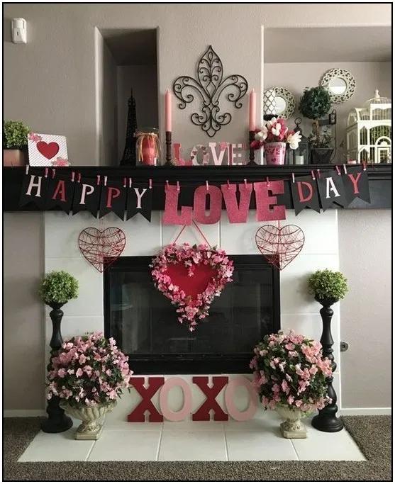 130 Super Sweet Diy Valentine S Day Decor Ideas 78 Pointsave Net Diy Valentine S Day Decorations Valentine Decorations Valentines Day Decorations