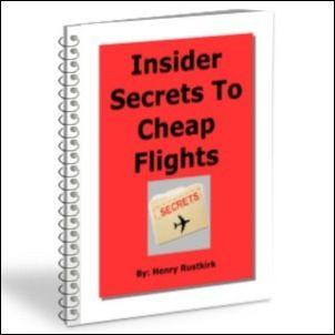 Insider Secrets To Cheap Flights Is An Wonderful Source That