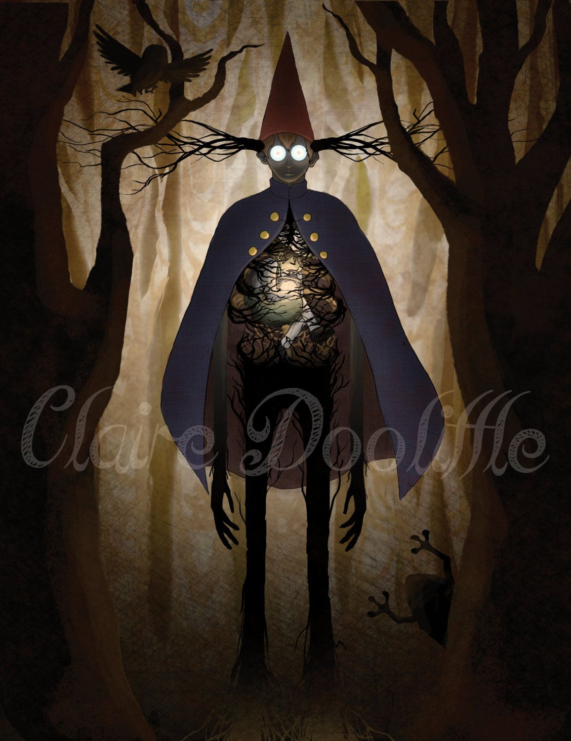 Over The Garden Wall The Beast Google Search Over The Garden Wall Pinterest