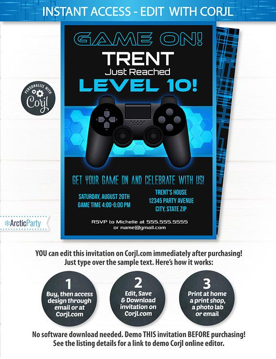 Video game invitations video game party invitation video game video game invitations video game party invitation video 799 videogameinvitations videogamepartyinvitation videogamebirthday stopboris Image collections