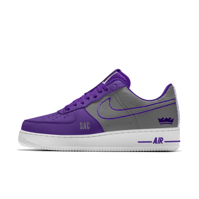 f036e385767d Nike Air Force 1 Low Premium iD (Sacramento Kings) Men s Shoe