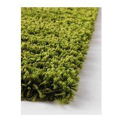 green shag rug ikea rug grass rug