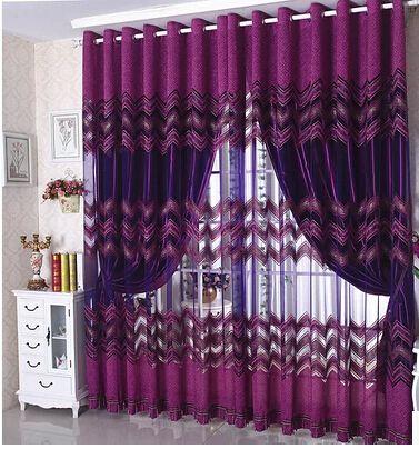 Shop Popular Purple Bedroom Curtains From China Purple Curtains Bedroom Purple Curtains Green Curtains Bedroom