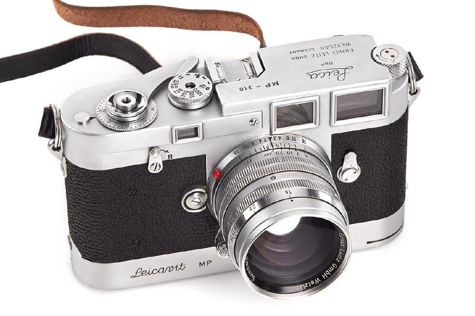 Leica MP chrome, 1958, no  MP-310 on   Leica   Leica, Rangefinder