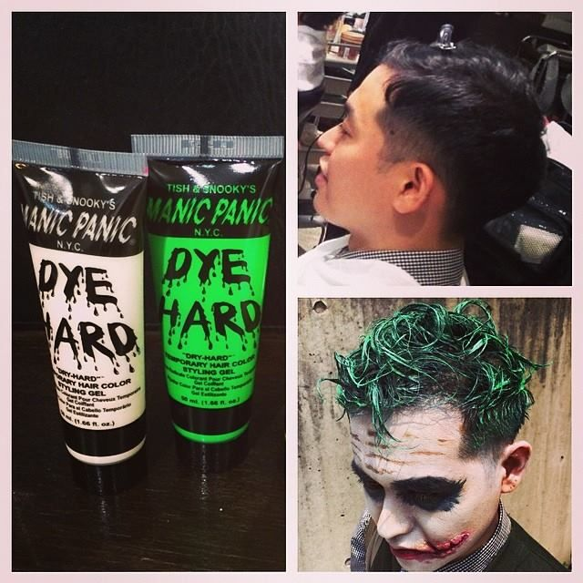 Just look at what a little Dye Hard can do! | Dye Hard Hair Gel ...