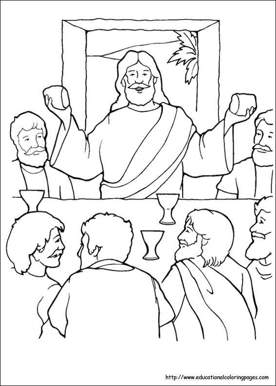 religious theme colouring - Google Search | CCD color pages ...