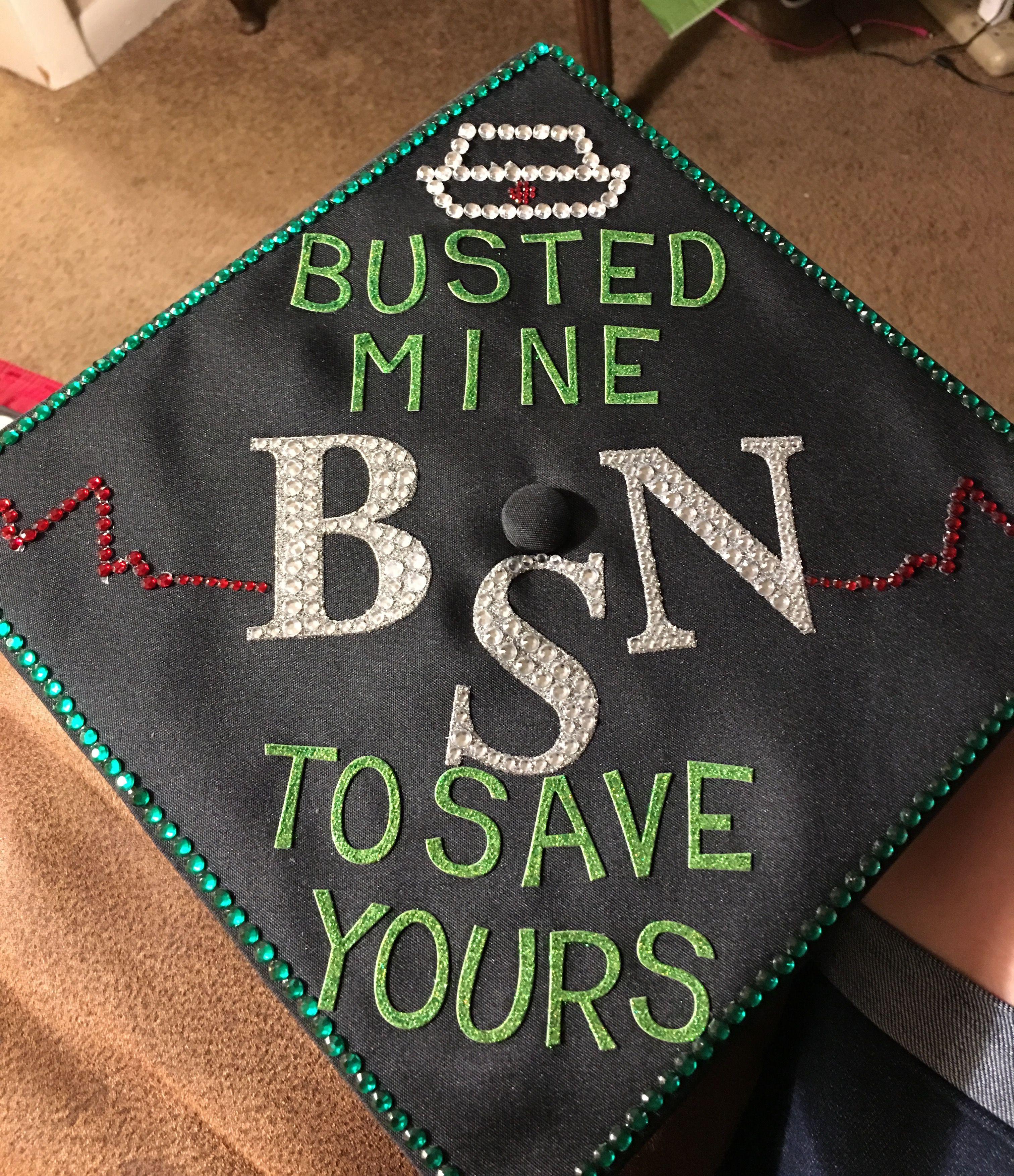 My nursing cap for graduation My nursing
