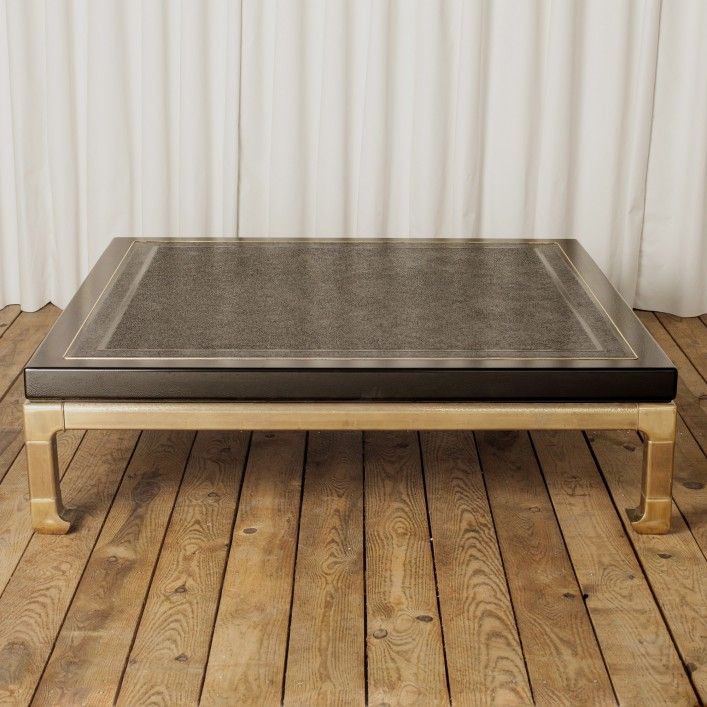Yonder Years Rustic Reclaimed Wood Large Square Coffee Table