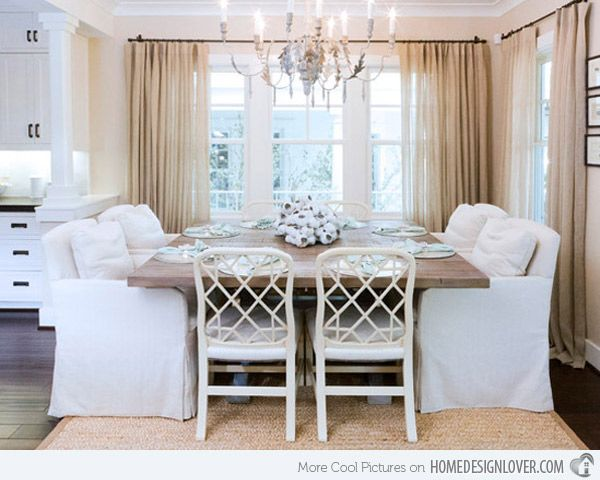 15 Pretty And Charming Shabby Chic Dining Rooms  Shabby Chic Adorable Shabby Chic Dining Room Table Inspiration