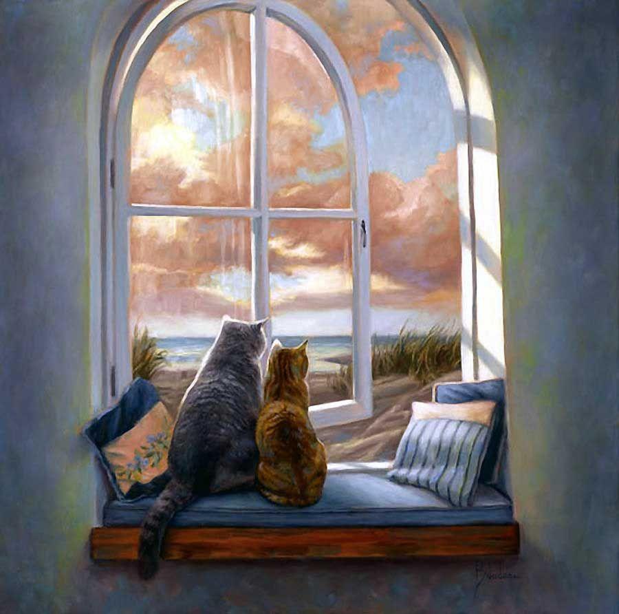 милая картинка окно хоть