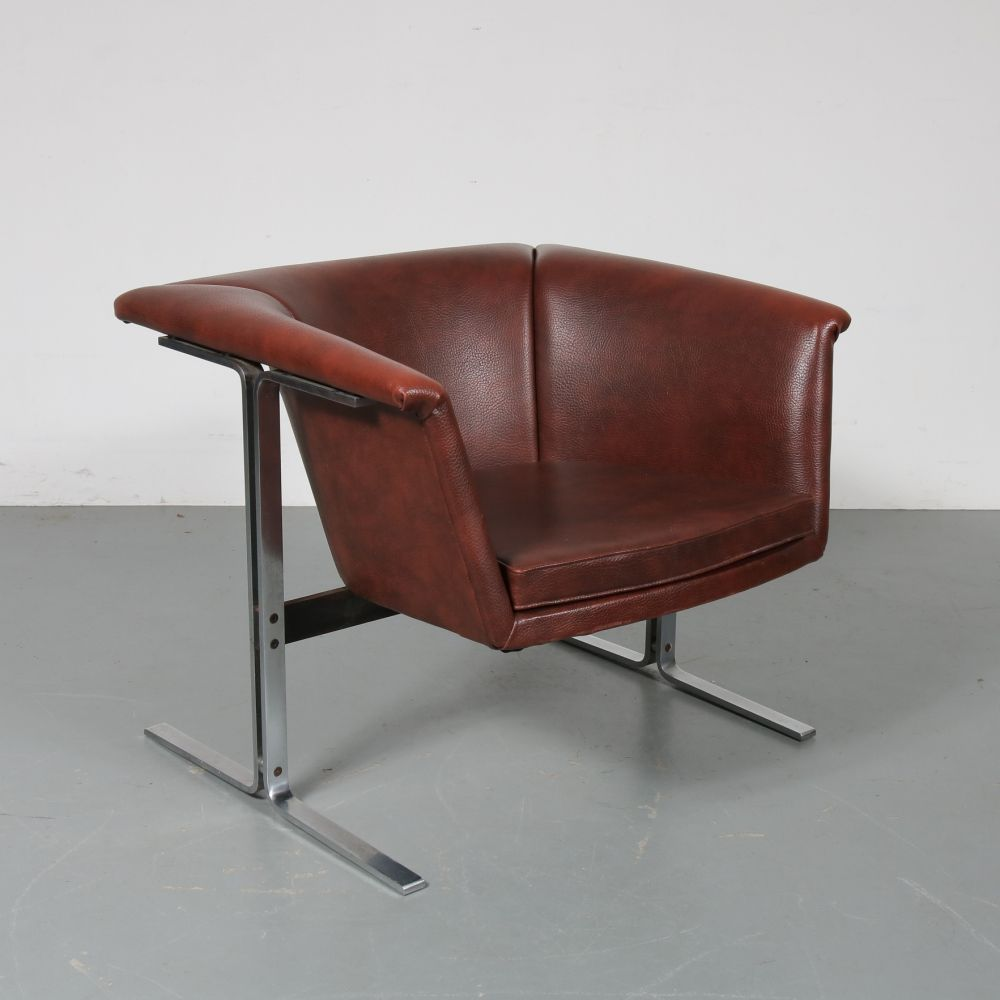 for sale lounge chair by geoffrey harcourt for artifort 1960s rh pinterest com