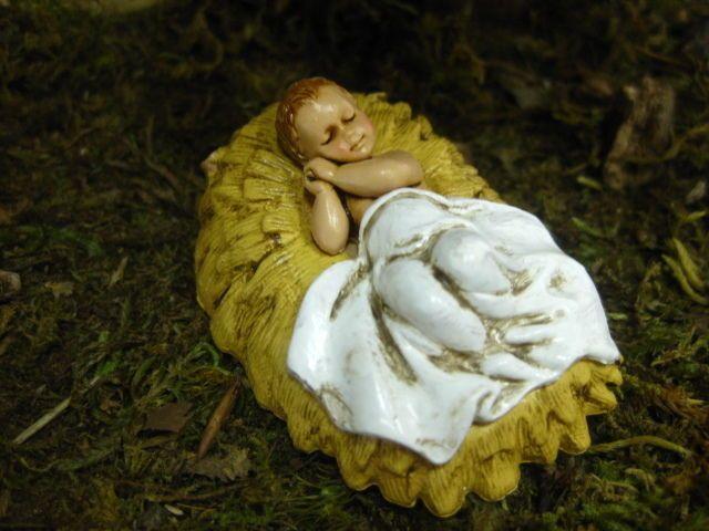 Pellegrini Baby Jesus Nativity Set Figurine Presepio