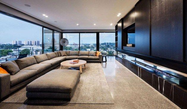 Uma decoração minimalista! Pinterest Arquitetura and House