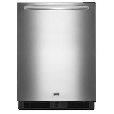 maytag 5 6 cu ft mini refrigerator in stainless steel murm24fwbs rh pinterest com