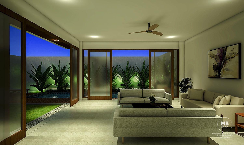 Pg Villa Living Room Night