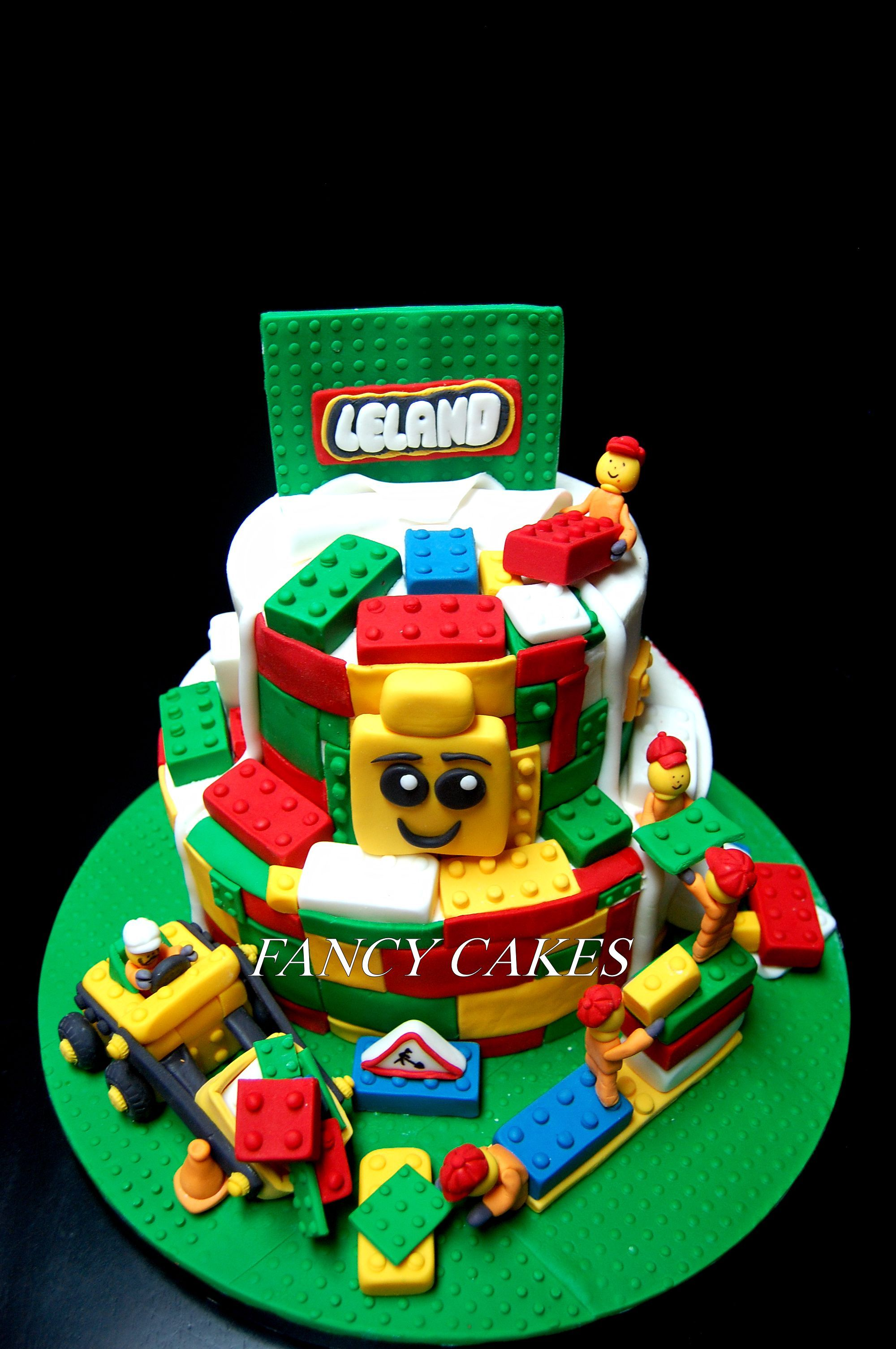 Lego Cake Lego City Construction Birthday Boy S