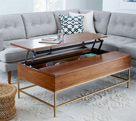 1960s style storage coffee table at west elm retro interiors and rh pinterest es