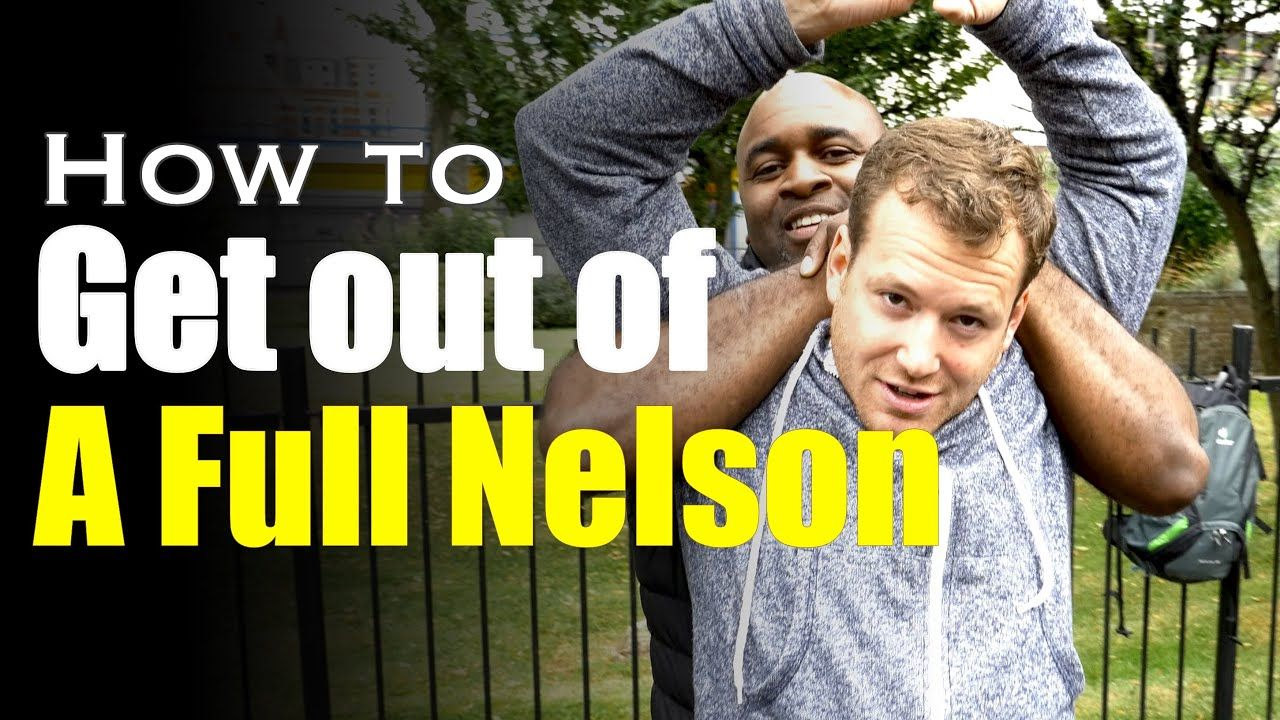How to get out of a full nelson with images full