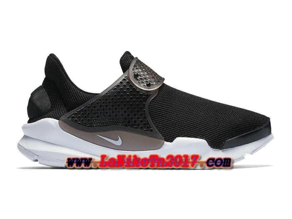Femme Nike Wmns Sock Dart Breathe Noir Blanc Chaussures NIke Pas Cher  896446-001