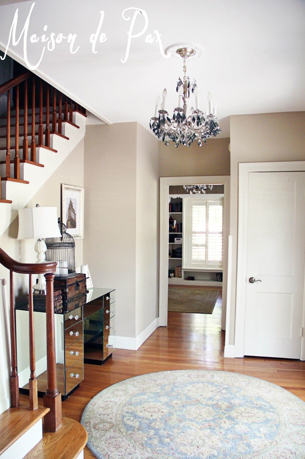 paint home design%0A Home Tour  The Entry