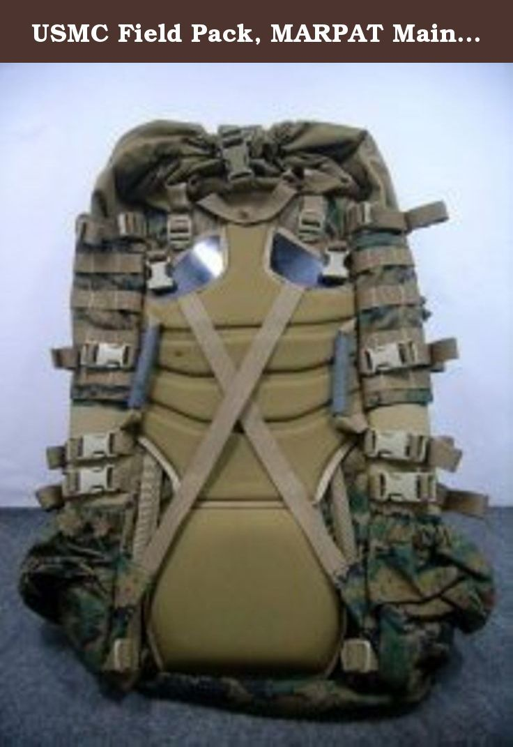 3a9602f344 USMC Field Pack, MARPAT Main Pack, Woodland Digital Camouflage, Spare Part,  Component